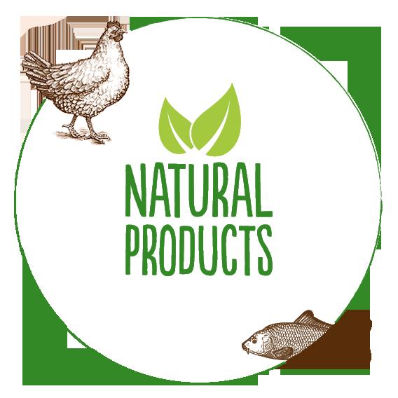 Prodotti naturali per cani e gatti