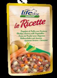lifedog-ricette-fegatini-di-pollo-con-verdure