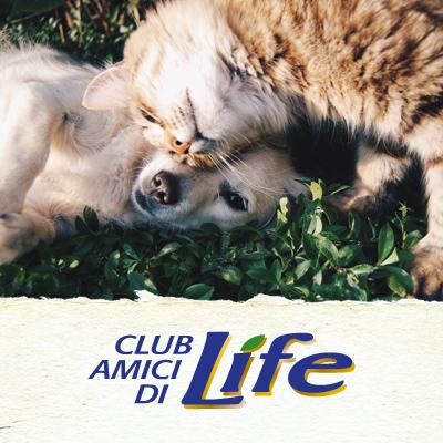 Iscriviti al Club Amici di Life